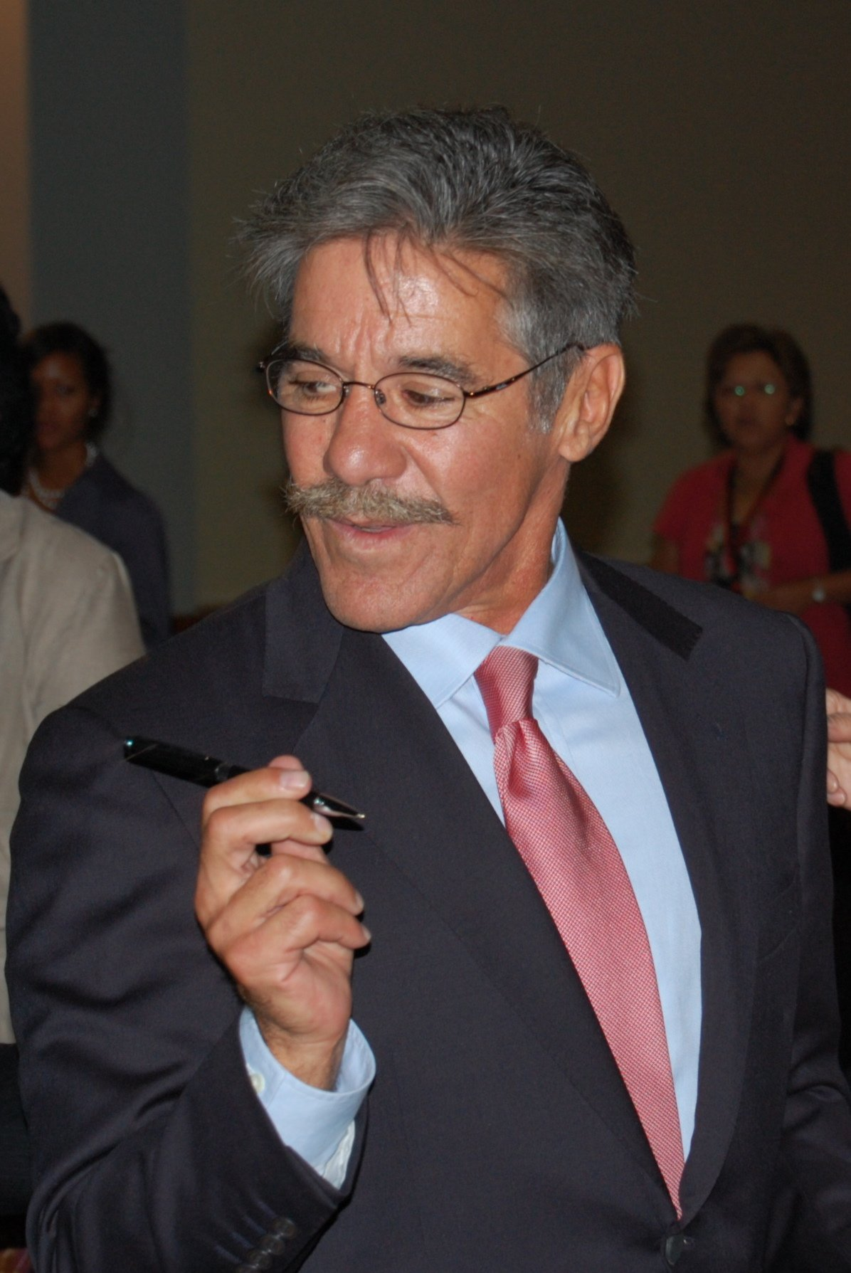 Geraldo Rivera on September 10, 2008 | Source: Wikimedia Commons