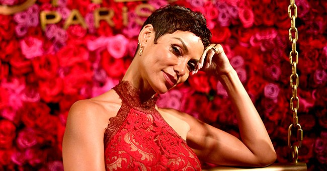 Nicole Murphy Shares Photos of Her Adult Son and Daughters Looking Amazing in Black Outfits