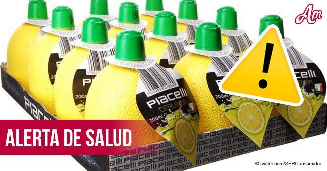 Alerta: Oficiales de salud en España advierten posibles peligros de un zumo de limón concentrado