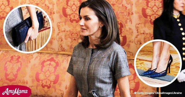 La reine Letizia surprend tout le monde avec son style dans une élégante robe grise