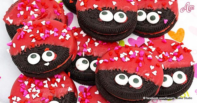 'Love bug' Oreo cookies are cute, easy to make, and totally scrumptious
