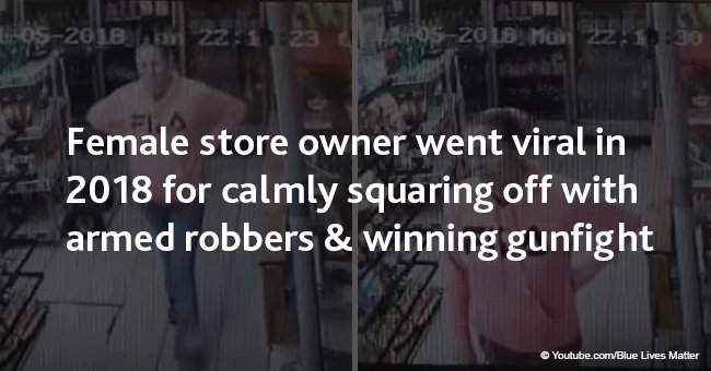 Female store owner went viral in 2018 for calmly squaring off with armed robbers & winning gunfight