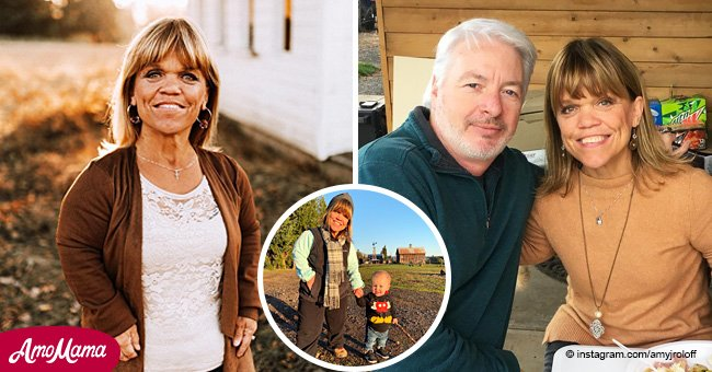 Amy Roloff shares a new photo of her grandson, and Jackson is growing up really fast
