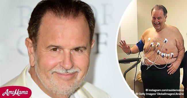 Raúl de Molina regresa a una clínica para perder peso tras comentarios sobre la figura de Adamari