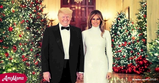 Melania and Donald Trump just released their Christmas Card
