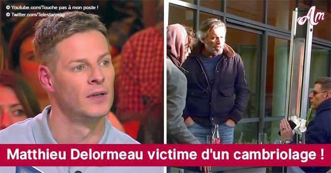 La maison de Matthieu Delormeau est attaquée: des objets de valeur ont été volés