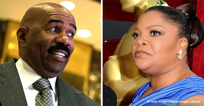 Steve Harvey regrets 'bad choice of words' after heated clash with Mo'Nique during interview