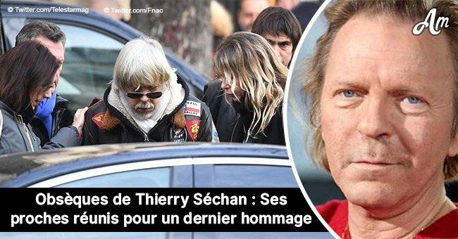 Les funérailles de Thierry Séchan : la famille et les célébrités se sont réunies pour lui rendre un hommage (photos)