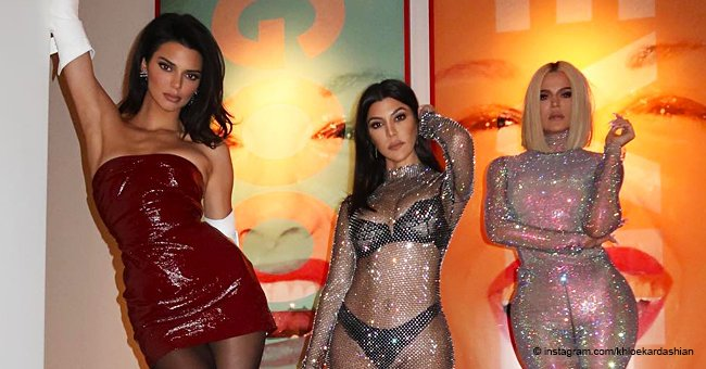 Kourtney, Khloe, and Kendall Pose for a Racy Photoshoot That Leaves Little to the Imagination