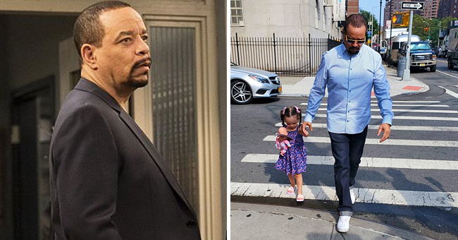 Ice-T's Little Daughter Chanel Has Fun on the 'Law & Order: SVU' Set