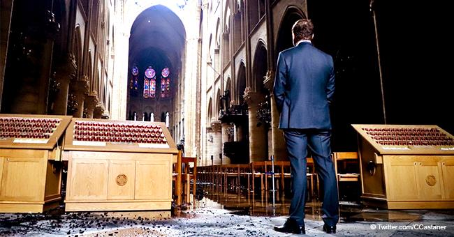 Christophe Castaner partage une photo de Notre-Dame et suscite de vives réactions