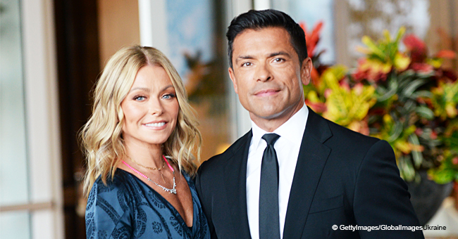 Kelly Ripa Shares Sexy Video of Mark Consuelos Flaunting His Abs