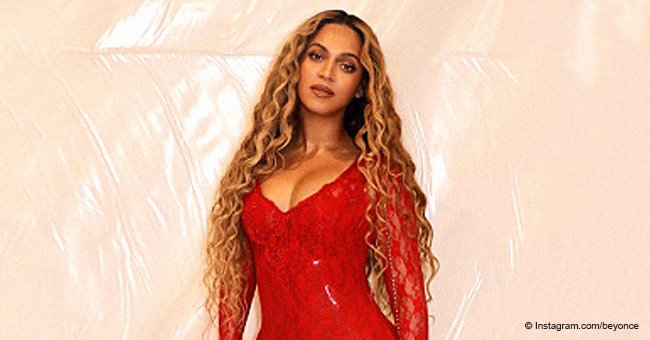 Beyoncé sets hearts racing in red lace minidress for romantic date night with husband in new pics