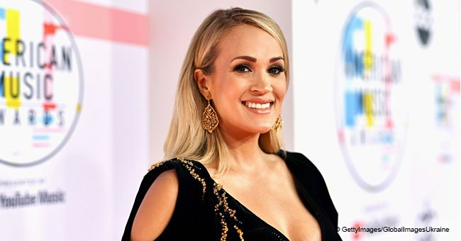 Carrie Underwood Looks Stunning in a New Photo Just Two Weeks After Giving Birth