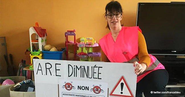 Les nounous protestent contre les indemnités de chômage : 'Vivre avec 600 euros par mois, c'est impossible
