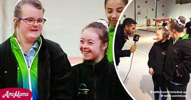 La historia de las niñas que se han convertido en gimnastas exitosas a pesar del síndrome de Down