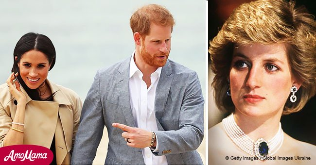 Príncipe Harry intentaría con todas sus fuerzas evitar que Meghan pase por lo mismo que su madre