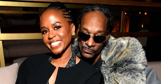 Snoop Dogg and Wife Shante Broadus Enjoy Date Night in Elegant Looks at Diddy's 50th Birthday Party