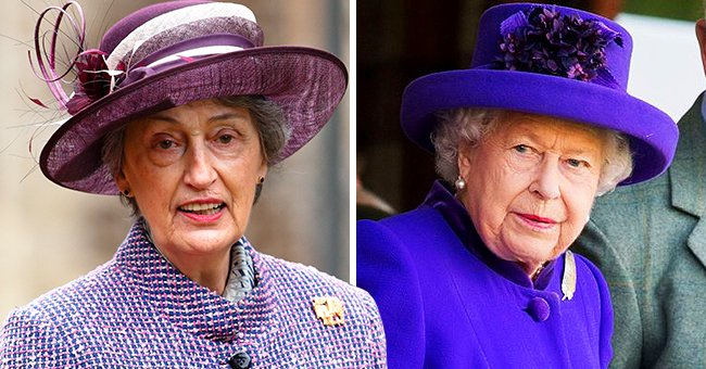 Queen's Lady-in-Waiting Rode With Her in the Car to Philip's Funeral — Meet Lady Susan Hussey