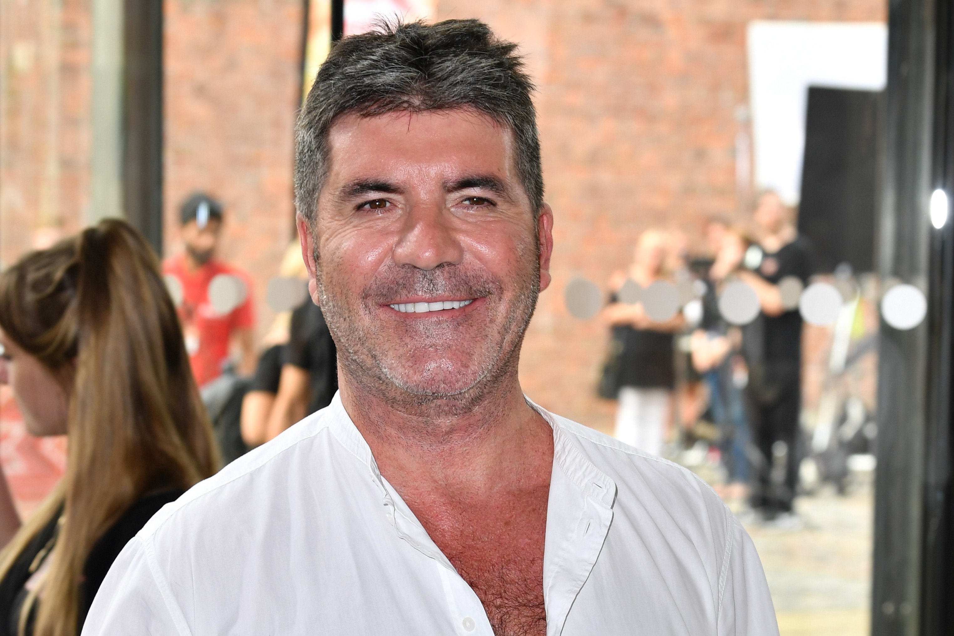 """Music producer Simon Cowell attends the first day of the """"X-Factor"""" auditions at the Titanic Hotel in Liverpool, England on June 20, 2017. 