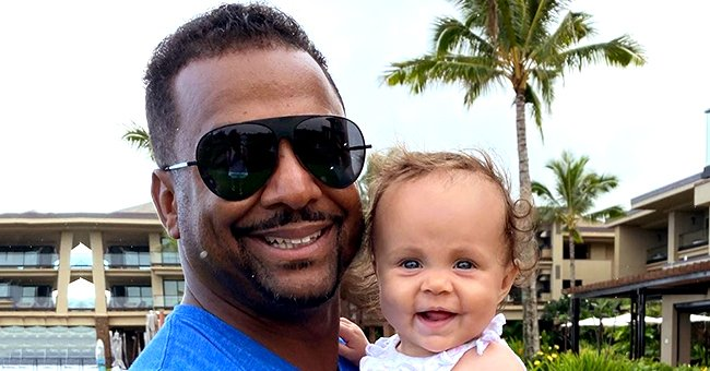 Alfonso Ribeiro from 'The Fresh Prince of Bel-Air' and His Wife Celebrate Daughter's 10-Month Birthday with Cute Photos