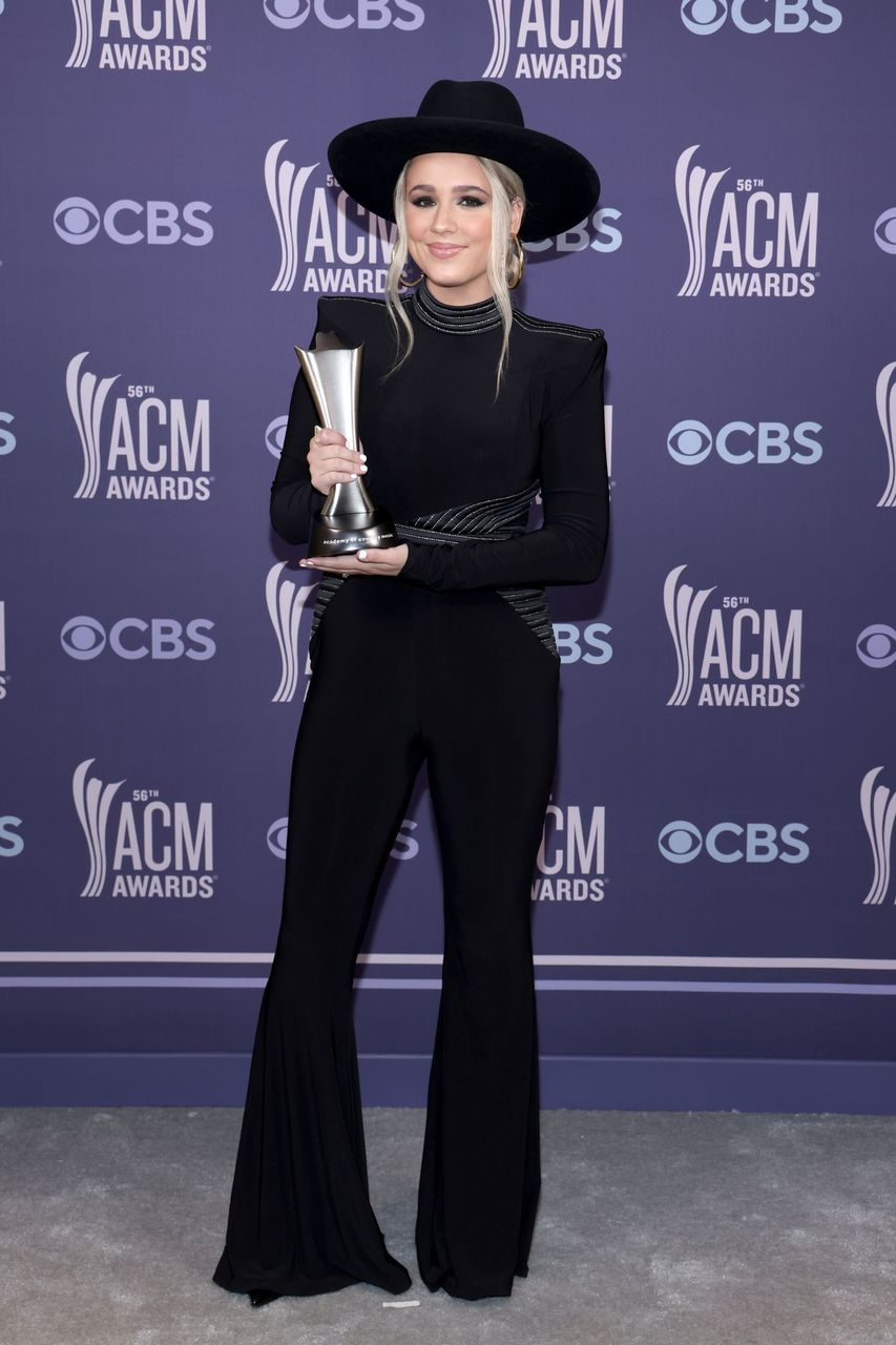 Gabby Barrett during the 56th Academy of Country Music Awards at the Grand Ole Opry on April 18, 2021 in Nashville, Tennessee.  | Getty Images