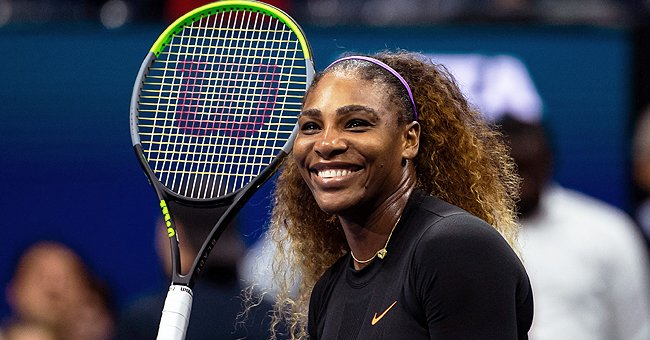Tennis Champion Serena Williams Looks Incredible in a Grey Checkered Dress & Thigh-High Boots