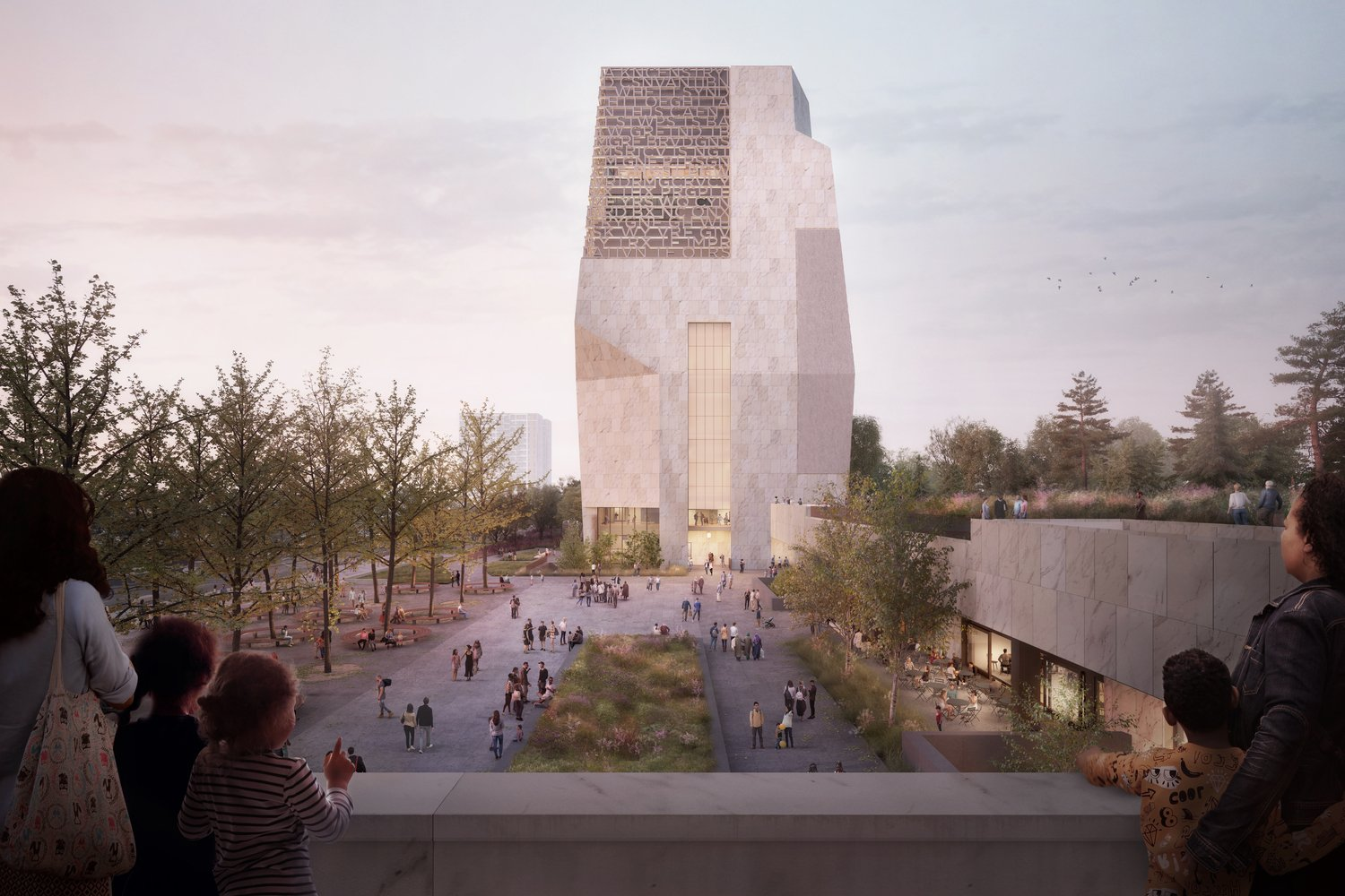 New renderings released for the Obama Presidential Center in Chicago/ Source: Courtesy of the Obama Foundation