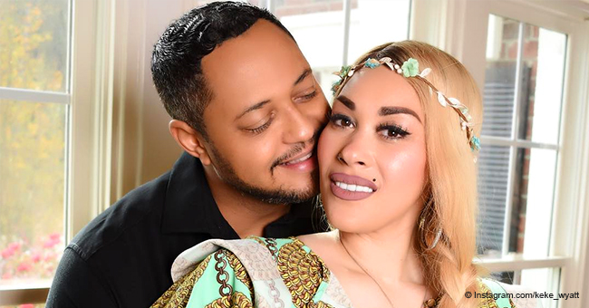Keke Wyatt Celebrates Birthday with New Husband, Shows off the Stunning Ring He Gifted Her