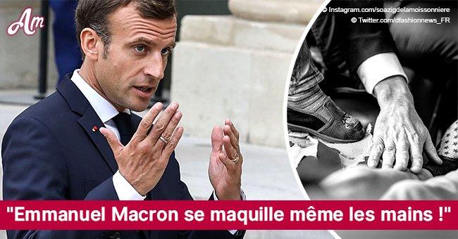 """Le Monde: """"Emmanuel Macron se maquille même les mains!"""", confie un député LREM"""