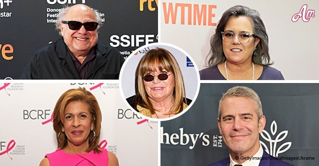 Stars including Rosie O'Donnell and Danny DeVito react to the death of Penny Marshall