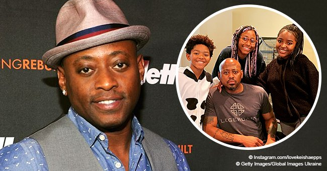 Omar Epps' wife melts hearts with rare picture of the actor together with his 3 children