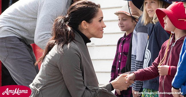 Duchess Meghan changed from formal into casual for a cafe meeting during the royal tour