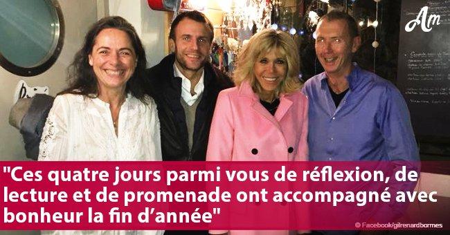 Emmanuel et Brigitte Macron: Voici un endroit cosy où ils ont passé le réveillon du Nouvel An