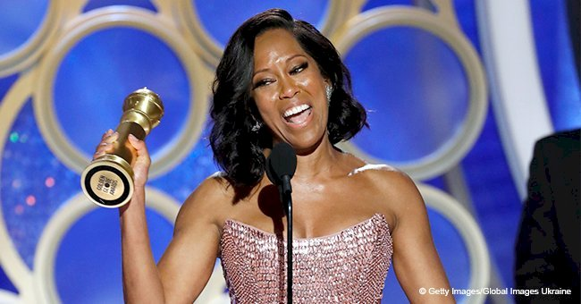 Regina King wins best supporting film actress award at the Golden Globes 2019