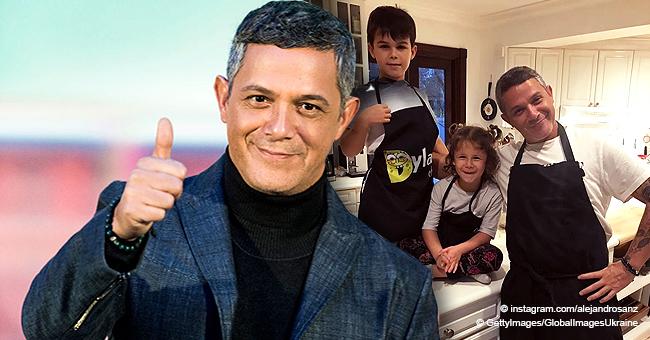 Alejandro Sanz es un padre feliz: quiénes son sus 4 hermosos hijos