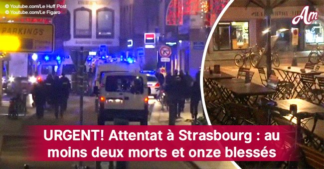 URGENT: des fusillades à Strasbourg, au moins 2 morts et 14 blessé