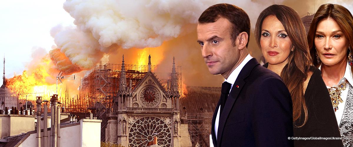 Macron, Hélène Ségara, Omar Sy, Trump : Des grandes personnalités réagissent avec émotion suite à l'incendie de Notre-Dame