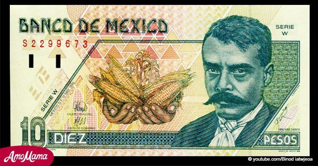 En honor al aniversario 99 de muerte de Emiliano Zapata, su retrato apareció en billetes y monedas