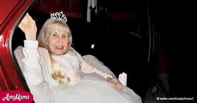 Le rêve d'une femme de 90 ans devient réalité quand elle peut enfin participer à la fête qu'elle voulait à l'âge de 15 ans