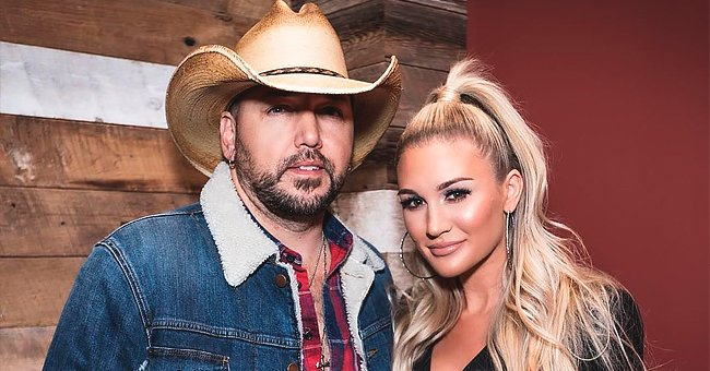 See a Glimpse of Jason Aldean's House as Shared by Wife Brittany through a Photo with Her Two Dogs