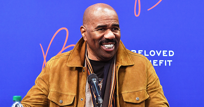 'Family Feud' Host Steve Harvey Shares Video of Grandson BJ Adorably Listing the Presidents of America