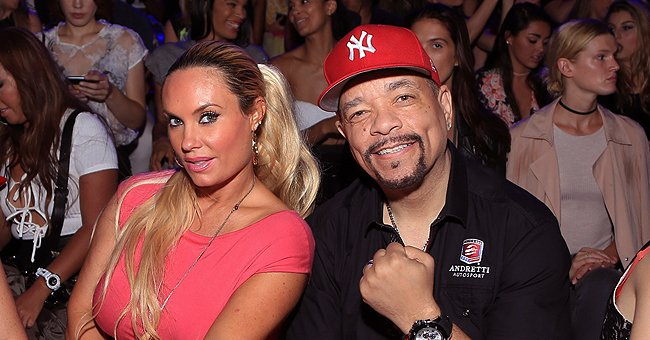 Ice-T's Wife Coco Shows off Her Thighs & Derrière in a Skinny White Mini Dress in New Shoot