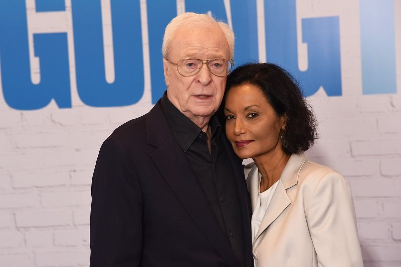Michael Caine and Shakira Caine on April 5, 2017 in London, United Kingdom | Photo: Getty Images