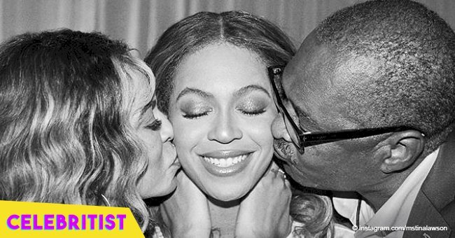 Beyoncé is all smiles in rare pictures with her mom and dad following their divorce in 2011