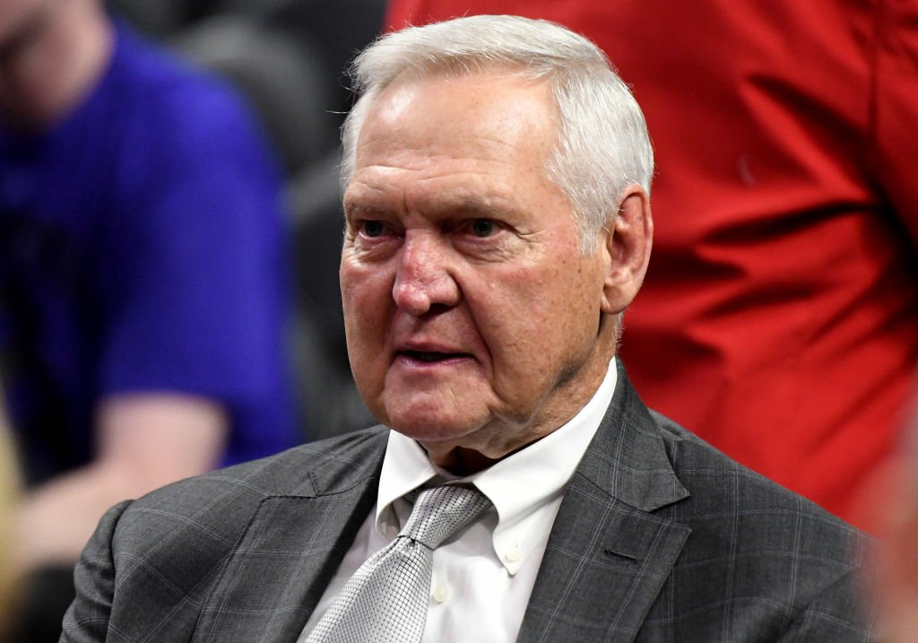 Jerry West prior to a NBA basketball game between the LA Clippers and the Sacramento Kings at the Staples Center in Los Angeles on January 30, 2020 | Photo: Getty Images