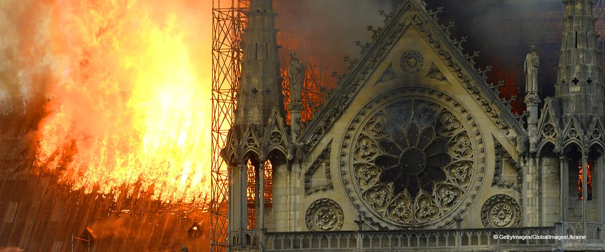Paris : Les images les plus impressionnantes de la cathédrale Notre-Dame en flammes