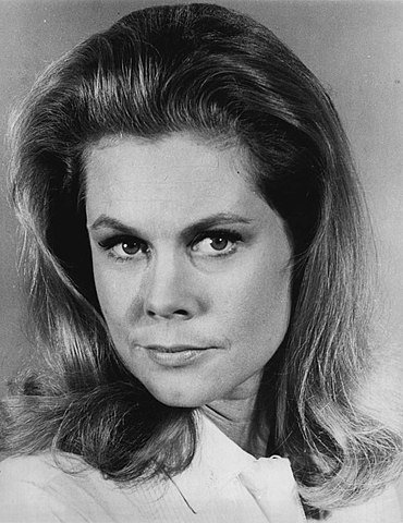 "Elizabeth Montgomery in ""Bewitched"" in 1968. 