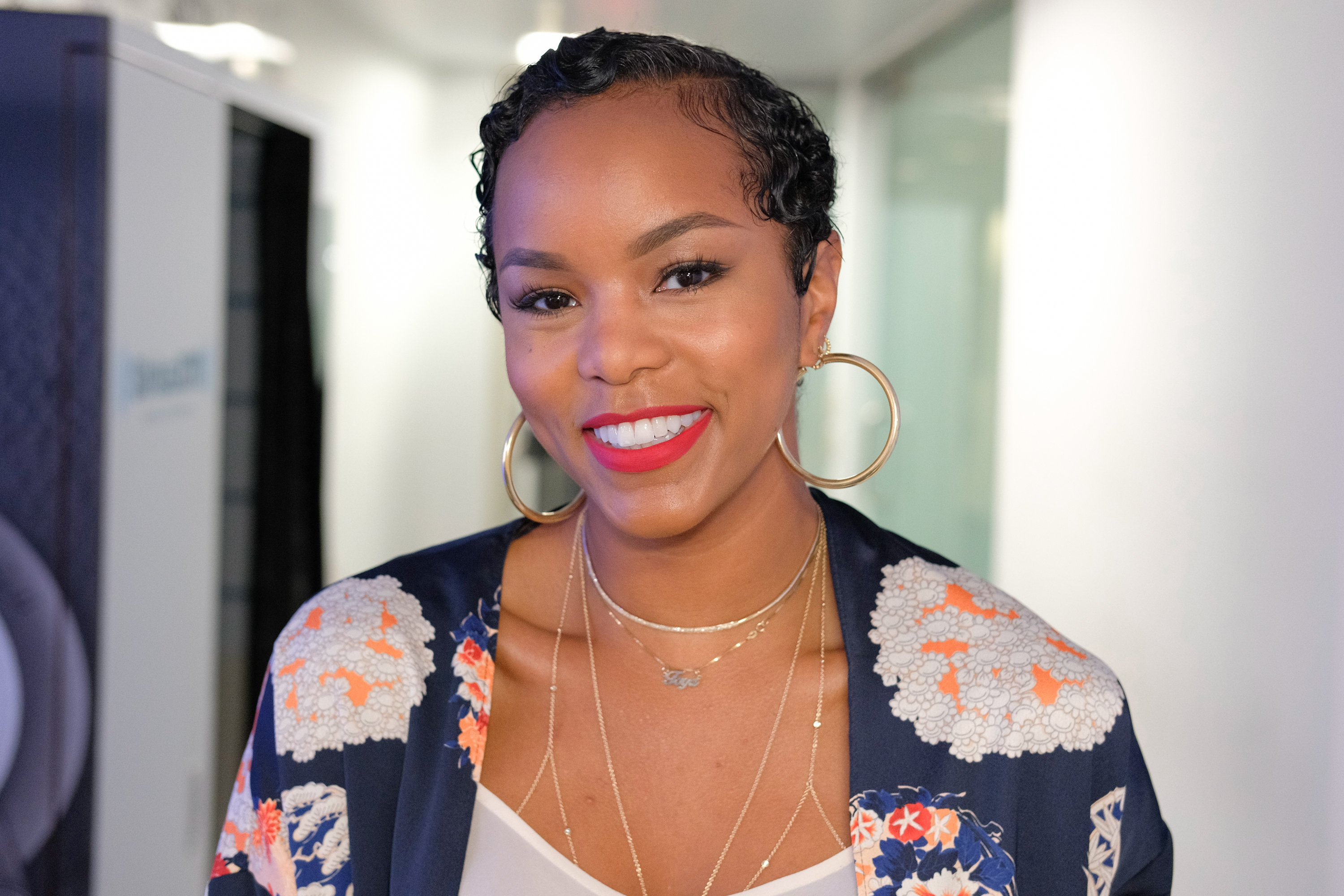 LeToya Luckett pictured at the SiriusXM Studios on April 19, 2017 in New York City.|Source: Getty Images