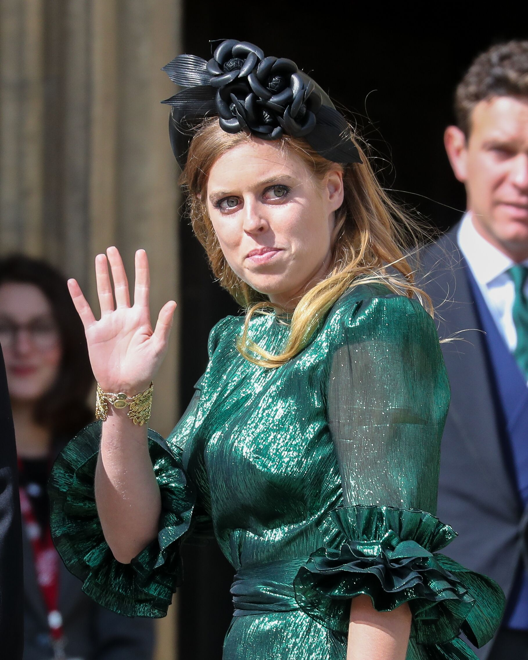 Princess Beatrice of York seen at the wedding of Ellie Goulding and Caspar Jopling at York Minster Cathedral on August 31, 2019 in York, England | Photo: Getty Images